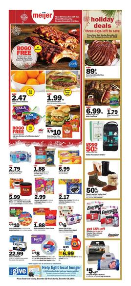 Meijer Pharmacy Coupons and Deals Weekly Ad Dec 22 28 2019
