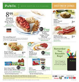 Publix Weekly Ad Nov 29 - Dec 4, 2019