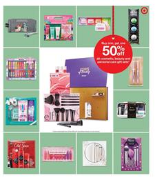 Target Ad Cosmetic Gift Sets