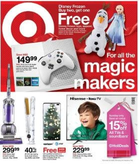 Target Early Black Friday Deals Nov 24 - 27, 2019