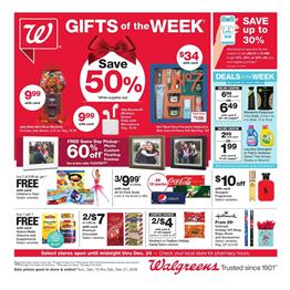 Walgreens Ad Gifts of The Week Dec 15 21 2019