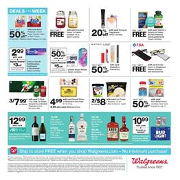 Walgreens Nature's Bounty Deals BOGO Free Dec 22 - 28, 2019