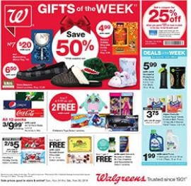 Walgreens Weekly Ad Snack and Grocery Sale Nov 24 - 30