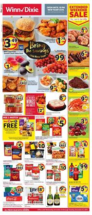Winn Dixie New Year Sale Dec 25 31 2019