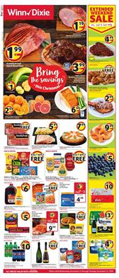 Winn Dixie Weekly Ad Christmas Hams Dec 11 - 17, 2019