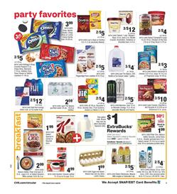 CVS Grocery Products Jan 5 - 11, 2020