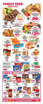 Family Fare Ad Mix or Match Deal Jan 12 - 18, 2020