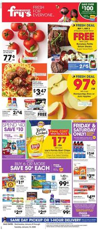Fry's Weekly Ad Deals Jan 8 - 14, 2020