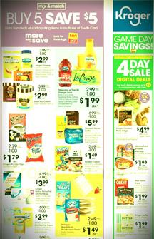 Kroger Weekly Ad Preview Mix and Match Sale Jan 29 - Feb 4, 2020