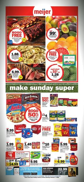 Meijer Weekly Ad Game Snacks Jan 26 - Feb 1, 2020