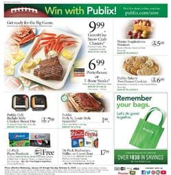 Publix Weekly Ad Grocery Jan 29 - Feb 4, 2020