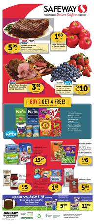 Safeway Weekly Ad Deals Jan 15 - 21, 2020
