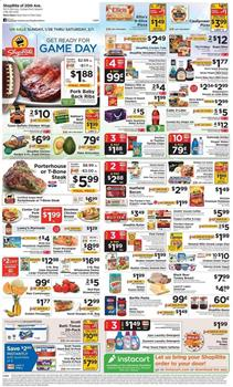 Shoprite Weekly Ad T-Bone Steak $5.99