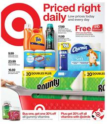 Target Ad New Household Deals Jan 12 - 18, 2020