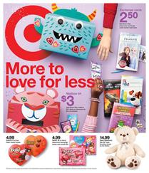 Target Valentine's Day Gifts Feb 2 - 8, 2020