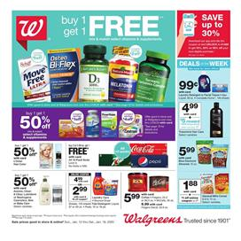 Walgreens Weekly Ad Gifts Jan 12 - 18, 2020