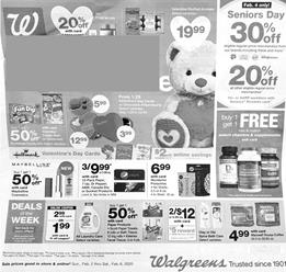 Walgreens Weekly Ad Preview Feb 2 8