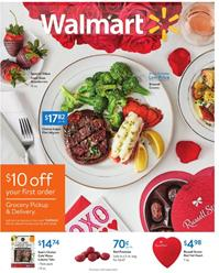 Walmart Ad Valentine's Day Gifts Jan 31 2020