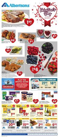 Albertsons Valentine's Day Sale Feb 12 - 18, 2020