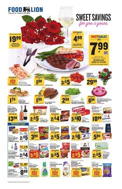 Food Lion Ad Rose Bouquet $19.99
