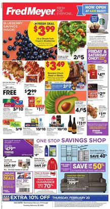 Fred Meyer Weekly Ad Blueberry Sale