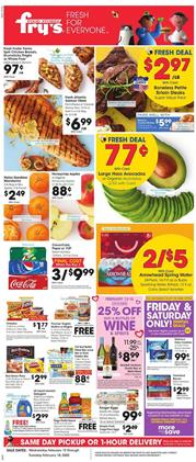 Frys Weekly Ad Deals Feb 12 18 2020