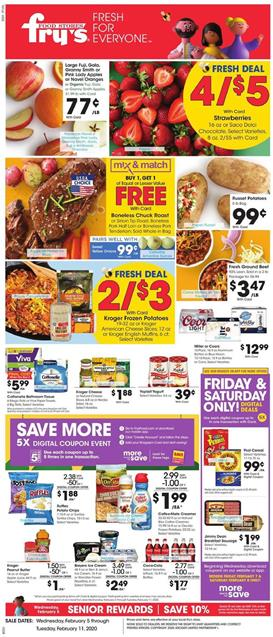 Fry's Weekly Ad Deals Feb 5 - 11, 2020