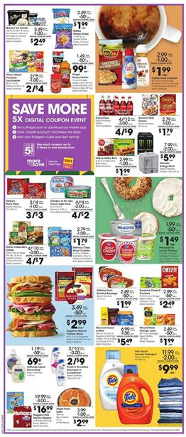 Kroger 5x Digital Coupon Event Feb 12 - 18, 2020