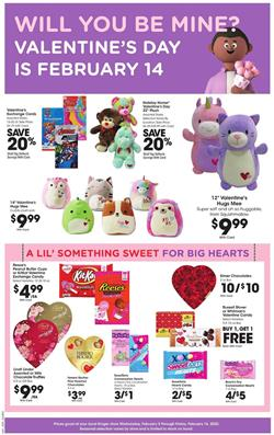 Kroger Valentine's Day Gifts Feb 5 - 11, 2020