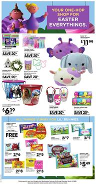 Kroger Weekly Ad Easter Toys Feb 26 - Mar 3, 2020