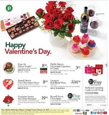 Publix Valentine's Day Sale Feb 6 - 12, 2020