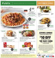 Publix Weekly Ad Grocery Feb 5 11 2020