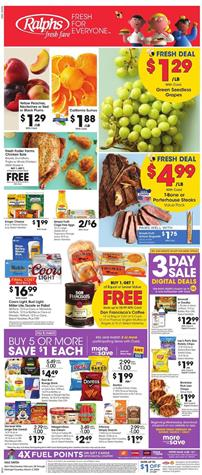 Ralphs Weekly Ad Sale Feb 26 - Mar 3, 2020