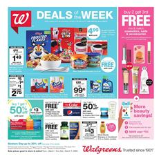 Walgreens Breakfast Deals Mar 1 - 7, 2020