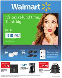 Walmart Weekly Ad TV Rollback Savings