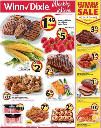 Winn Dixie Weekly Ad Mar 4 10 2020