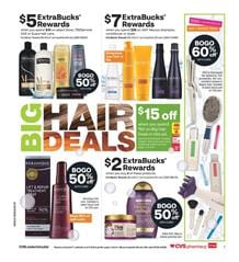 CVS Big Hair Deals Mar 22 - 28, 2020