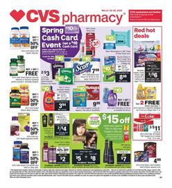 CVS Weekly Ad Sale Mar 22 - 28, 2020