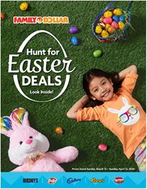 Family Dollar Ad Easter Sale 2020