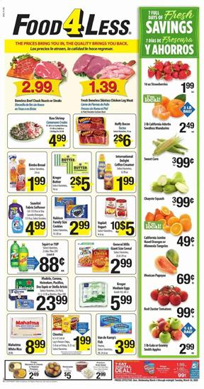 Food 4 Less Ad Fresh Savings Mar 4 - 10, 2020