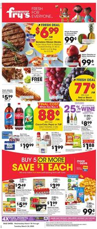 Fry's Weekly Ad Sale Mar 18 - 24, 2020