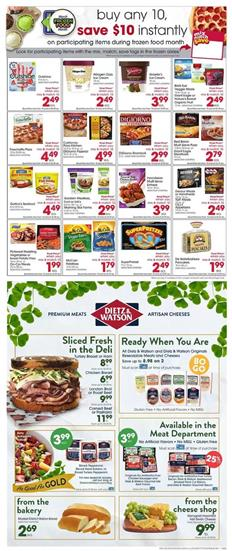 Giant Eagle Ad Buy 10 Save $10 Sale