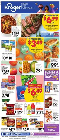 Kroger Ad 5x Digital Coupon Event Mar 4 10 2020