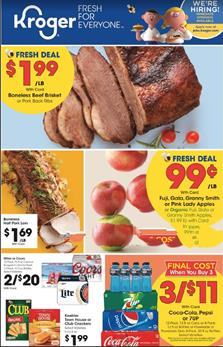 Kroger Buy 5 Save $1 Each Mar 25 - 31, 2020