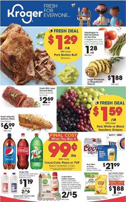 Kroger Weekly Ad Preview Mar 18 - 24, 2020