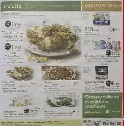 Publix Weekly Ad Preview Mar 18 - 24, 2020