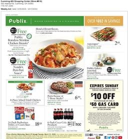 Publix Weekly Ad Sale Mar 25 - 31, 2020
