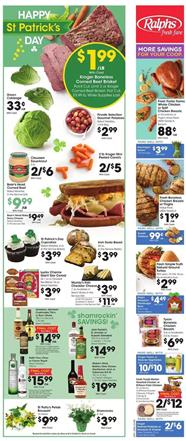 Ralphs Weekly Ad Sale Mar 11 - 17, 2020