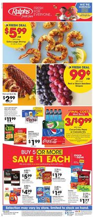 Ralphs Weekly Ad Sale Mar 25 - 31, 2020