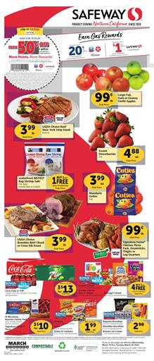 Safeway Weekly Ad Coupons Mar 18 - 24, 2020
